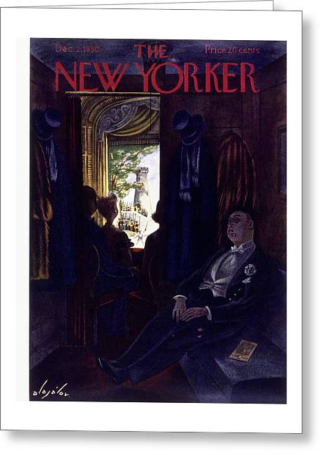 New Yorker December 2 1950 Greeting Card