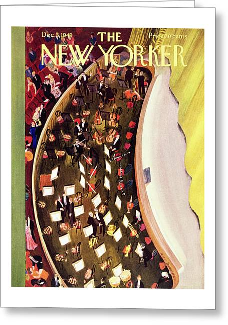 New Yorker December 3 1949 Greeting Card