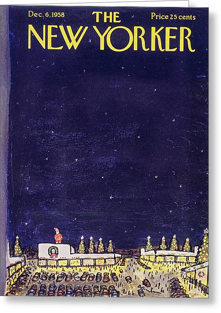 New Yorker December 6 1958 Greeting Card