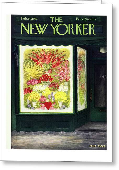 New Yorker February 14 1953 Greeting Card