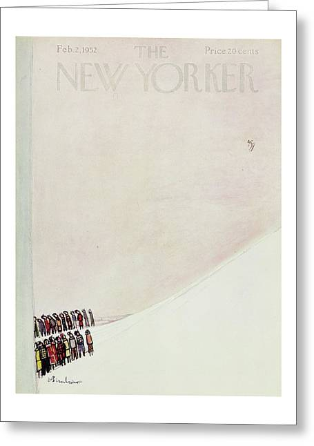 New Yorker February 2 1952 Greeting Card