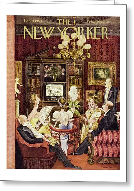 New Yorker February 4 1950 Greeting Card