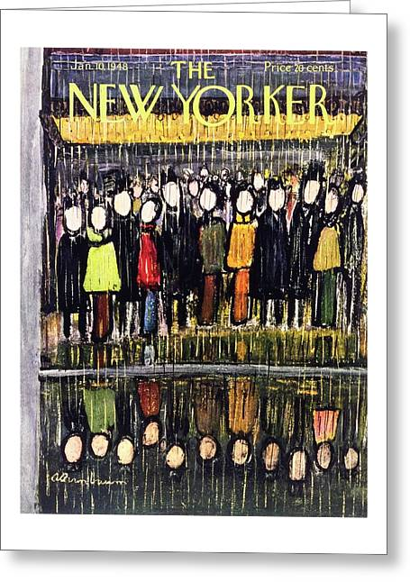 New Yorker January 10, 1948 Greeting Card