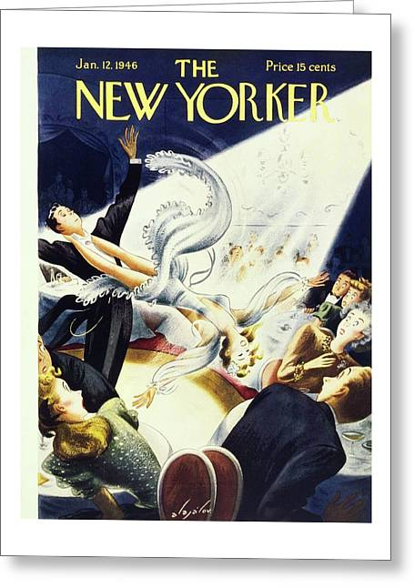 New Yorker January 12 1946 Greeting Card