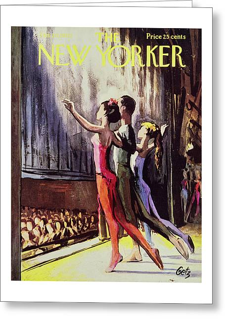 New Yorker January 20 1962 Greeting Card