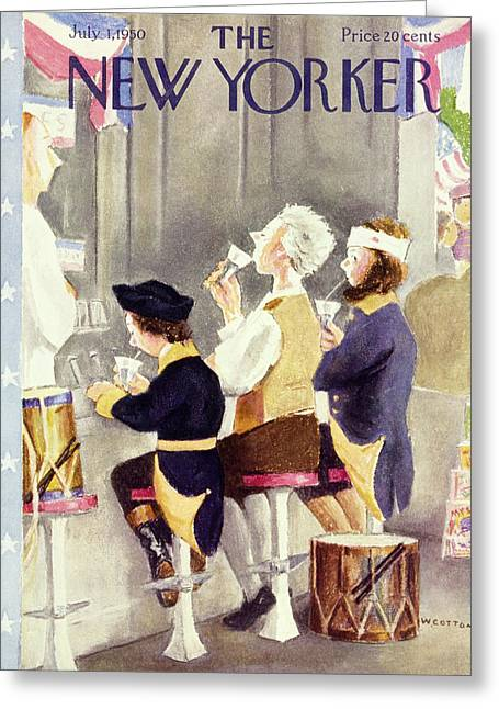 New Yorker July 1 1950 Greeting Card