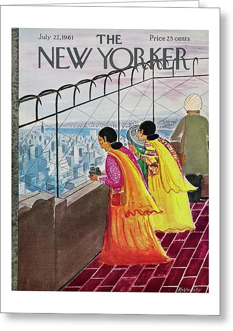 New Yorker July 22 1961 Greeting Card