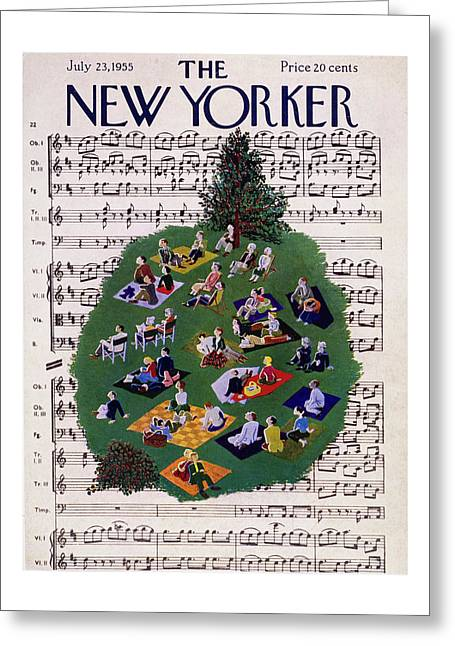 New Yorker July 23 1955 Greeting Card