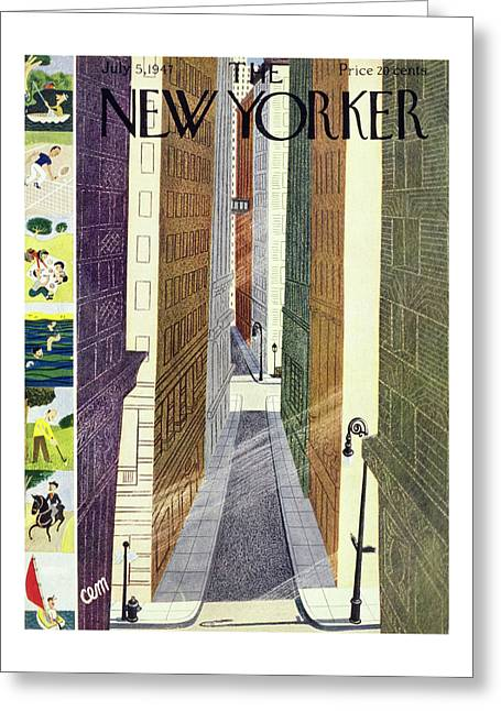 New Yorker July 5th, 1947 Greeting Card