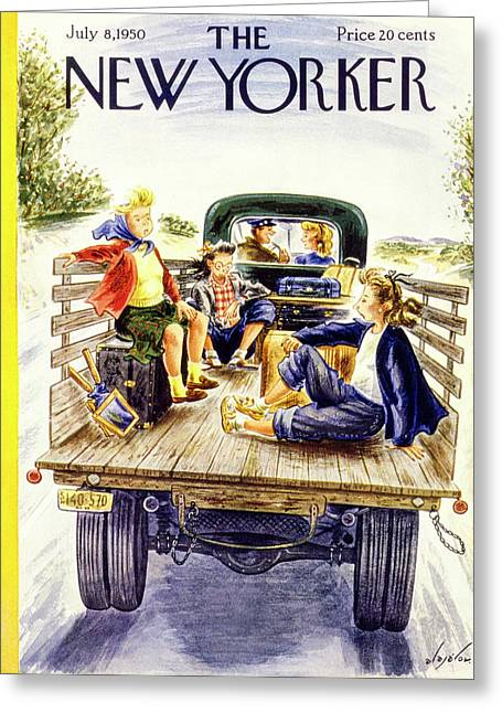 New Yorker July 8 1950 Greeting Card