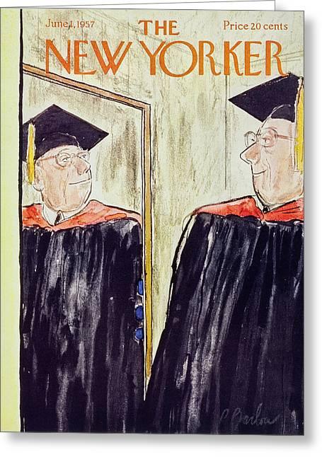 New Yorker June 1 1957 Greeting Card