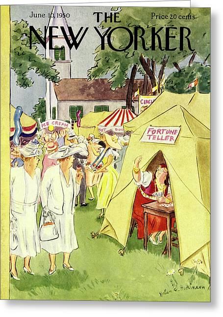New Yorker June 10 1950 Greeting Card