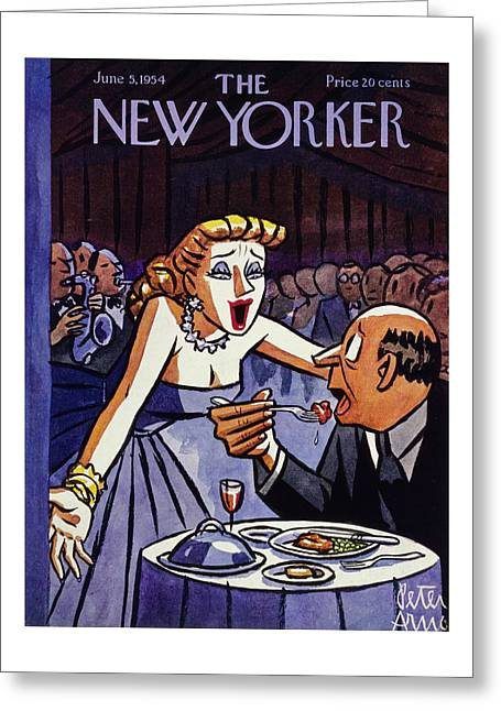 New Yorker June 5 1954 Greeting Card