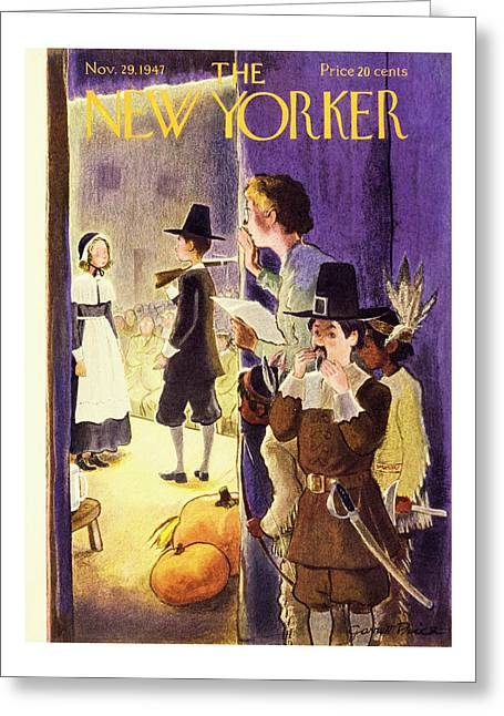 New Yorker November 29, 1947 Greeting Card