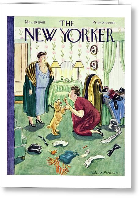 New Yorker March 20, 1948 Greeting Card