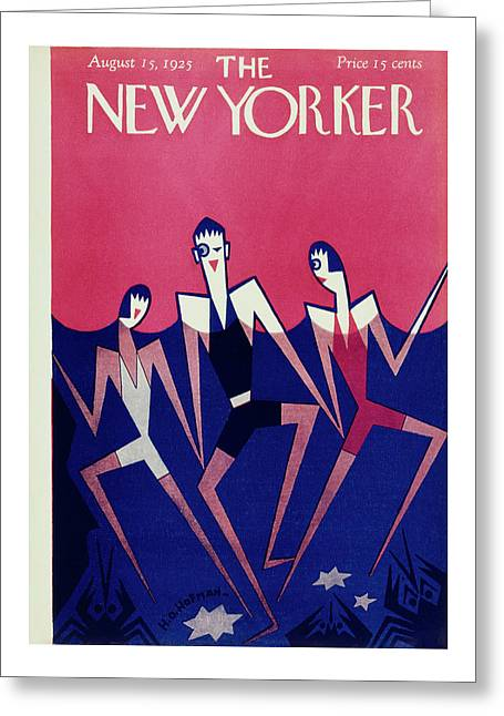 New Yorker August 15, 1925 Greeting Card
