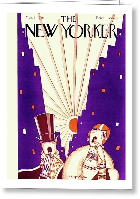 New Yorker March 6 1926 Greeting Card