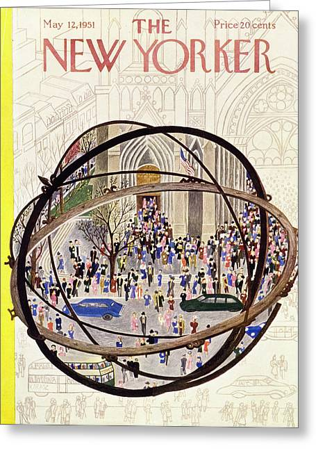 New Yorker May 12 1951 Greeting Card