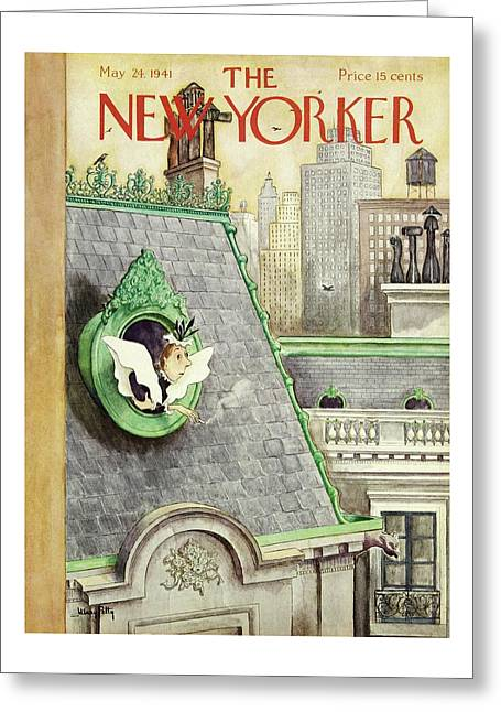 New Yorker May 24 1941 Greeting Card