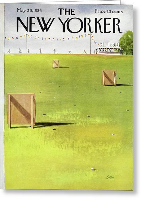 New Yorker May 26 1956 Greeting Card