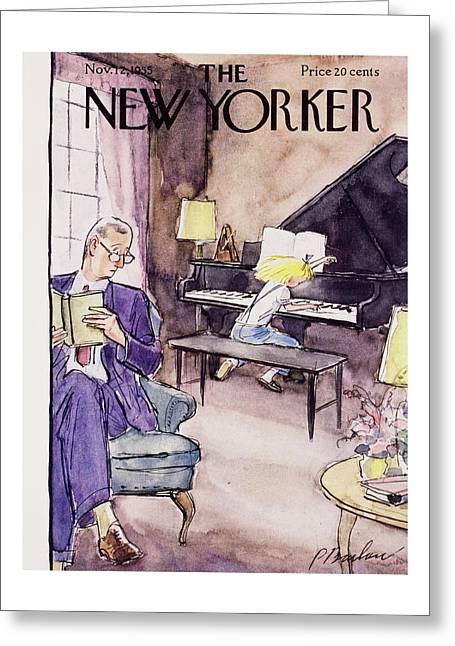 New Yorker November 12 1955 Greeting Card
