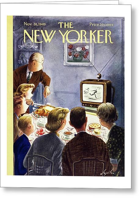 New Yorker November 26 1949 Greeting Card