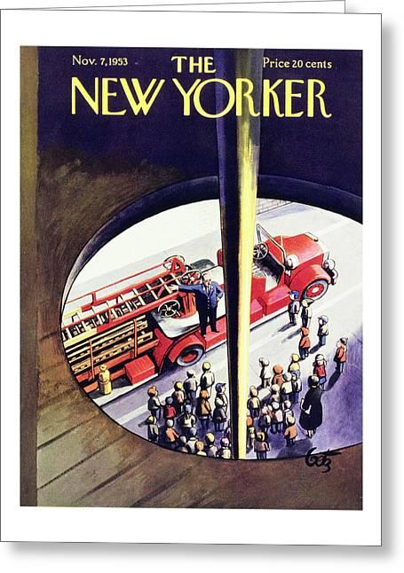 New Yorker November 7 1953 Greeting Card