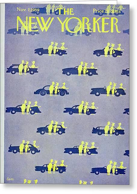 New Yorker November 7 1959 Greeting Card