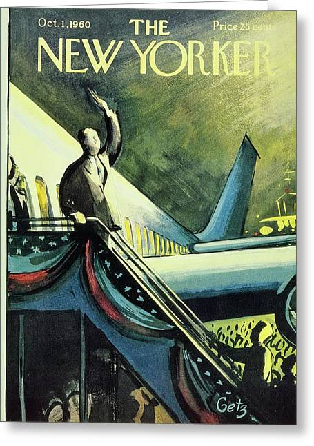 New Yorker October 1 1960 Greeting Card