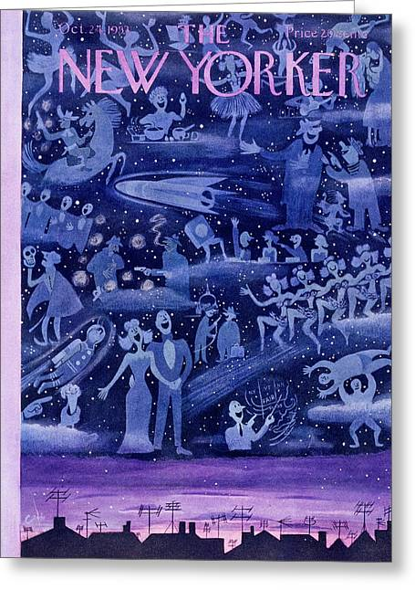 New Yorker October 24 1953 Greeting Card