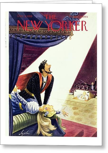 New Yorker December 5, 1953 Greeting Card