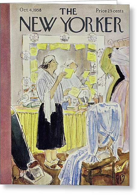New Yorker October 4 1958 Greeting Card