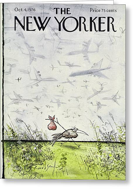 New Yorker October 4 1976 Greeting Card