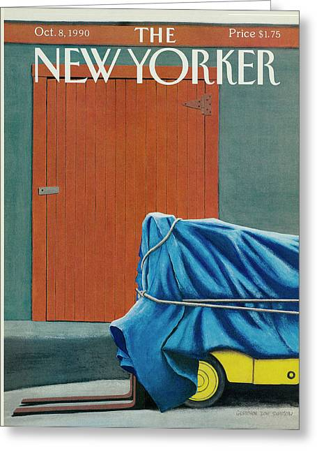 New Yorker October 8 1990 Greeting Card