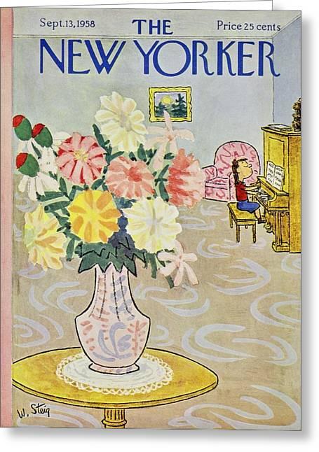 New Yorker September 13 1958 Greeting Card
