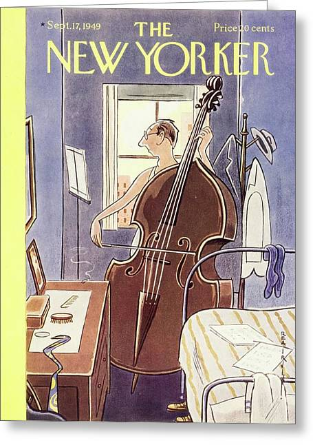 New Yorker September 17th, 1949 Greeting Card
