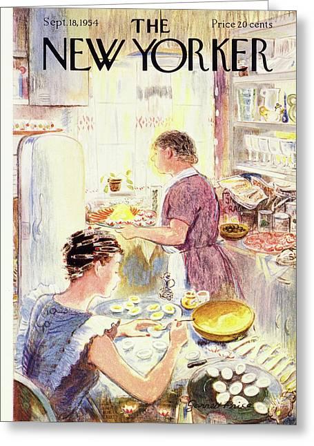 New Yorker September 18 1954 Greeting Card