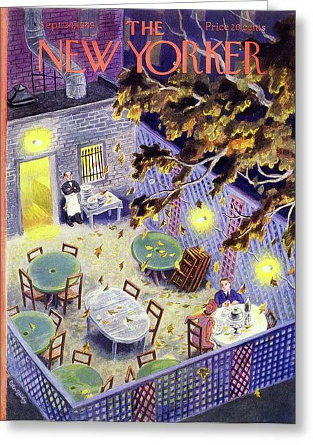 New Yorker September 24 1949 Greeting Card