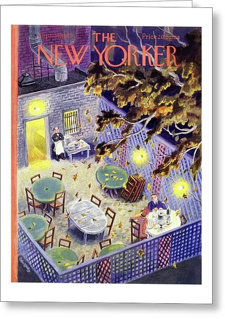 New Yorker September 24 1949 Greeting Card