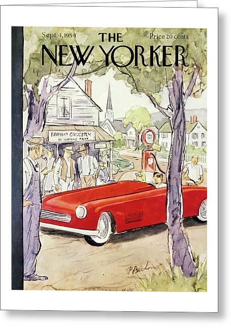 New Yorker September 4 1954 Greeting Card