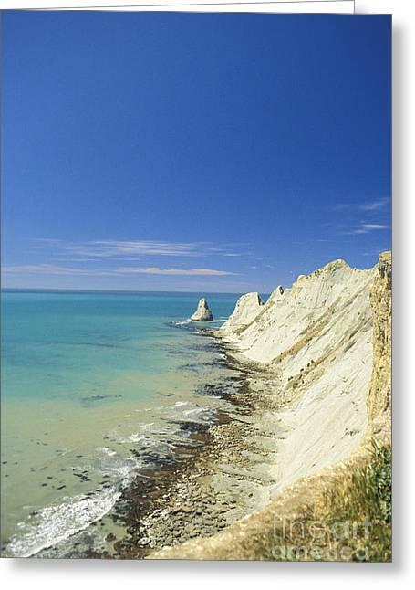 New Zealand, Beach Greeting Card