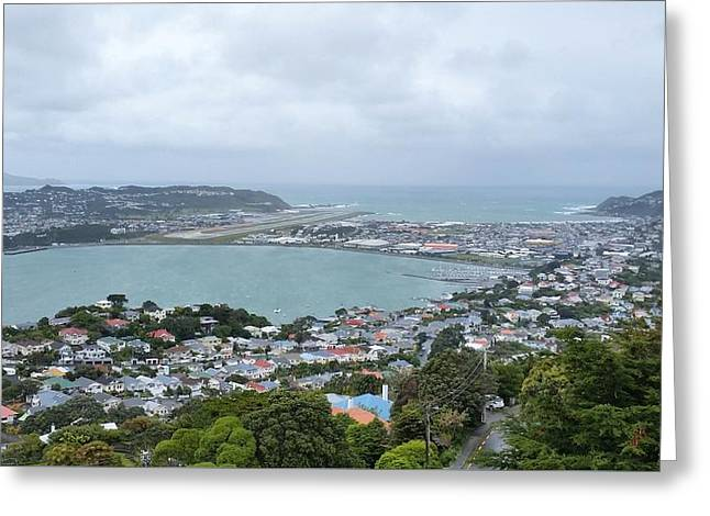 New Zealand - White Knickle Rongotai Airport Greeting Card