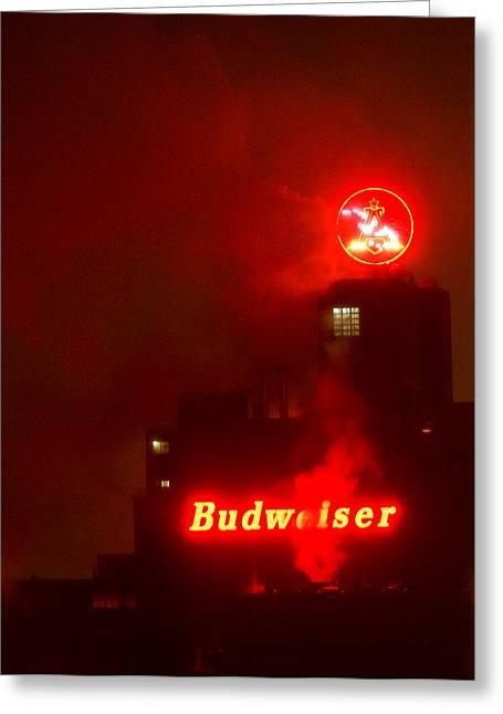 Newark Budweiser Greeting Card