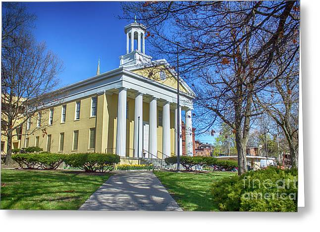 Newburgh Courthouse On Grand Street 1 Greeting Card
