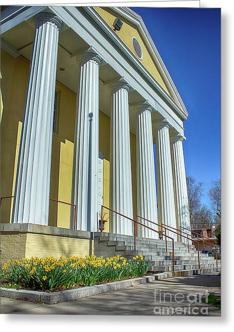 Newburgh Courthouse On Grand Street 2 Greeting Card
