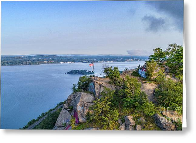 Newburgh From Breakneck Ridge Greeting Card