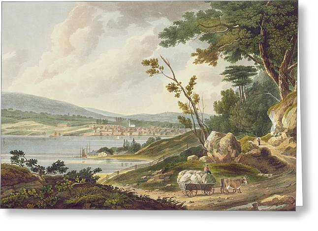 Newburgh Greeting Card by William Guy Wall