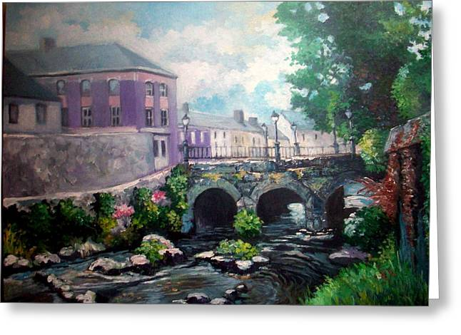 Newcastle West Co Limerick Greeting Card