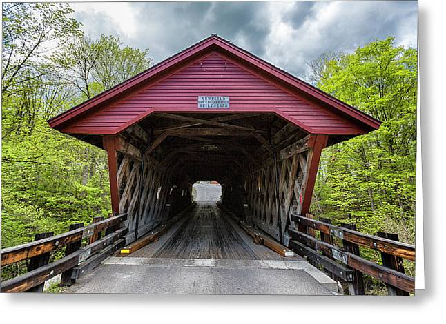 Newfield Covered Bridge Greeting Card