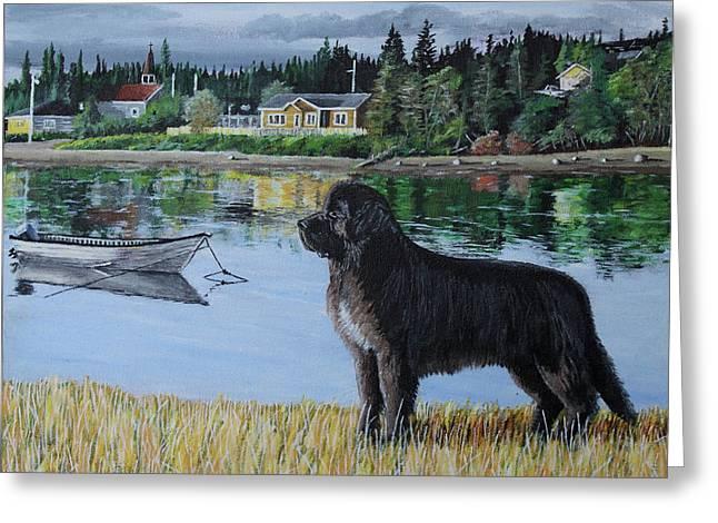 Newfoundland In Labrador Greeting Card